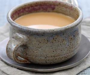 autumn, tea, and winter image