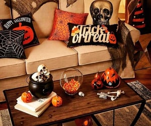autumn, decoration, and orange image
