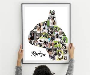 boston terrier, etsy, and dog art print image