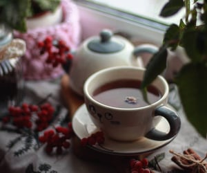 cup of tea, yummy, and drink image
