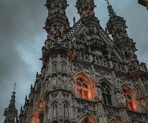 architecture, belgium, and church image