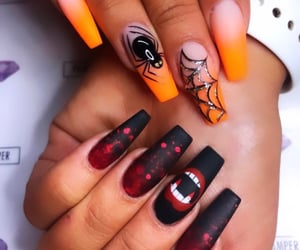 art, boo, and manicure image