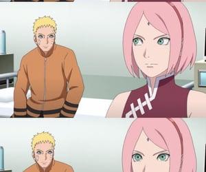 naruto, sakura, and naruto uzumaki image