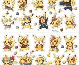 pikachu, ぴかちゅう, and ポケモン image