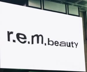 aesthetic, billboard, and rem beauty image