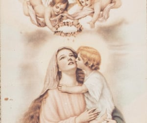blessed, catholic church, and rosenkranz image