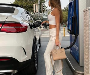 gas station, life, and street style image