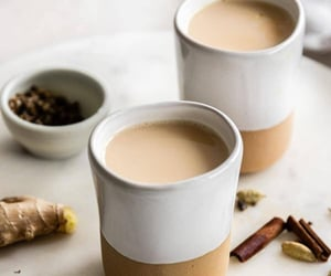 cozy, chai, and drinks image