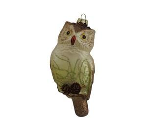 etsy, german christmas, and owl figurine image