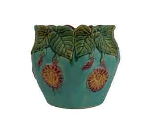 etsy, antique majolica, and antique vase image