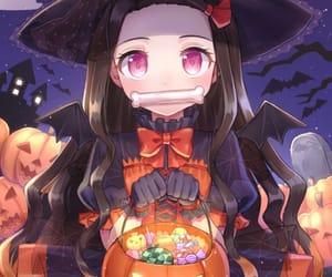 anime, Halloween, and demonslayer image