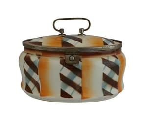 etsy, storage canister, and biscuit barrel image