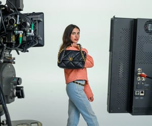actress, behind the scenes, and chanel image