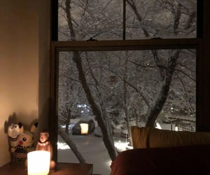 bedroom, candle, and cold image