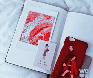 book, red, and case image
