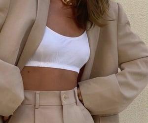 beige, parisian, and fashion image