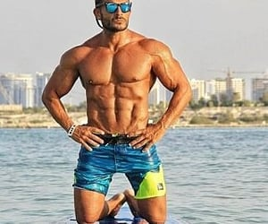 fitness, weight loss, and bodybuilding image