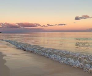 Pastel seashore
