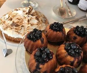 bakery, cake, and meringue image