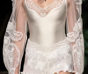fashion, lace, and runway image
