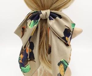 autumn, hair bow, and large hair bow image