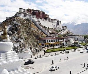 china, Potala Palace, and kang'angduo n. rd. image