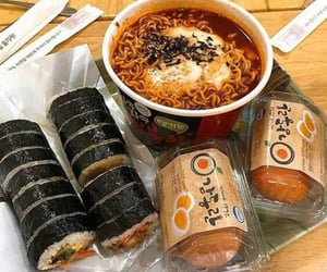 food, korean, and aesthetic image