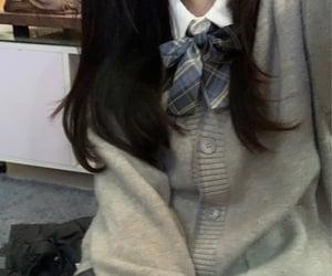 aesthetic, schoolgirl, and discord image