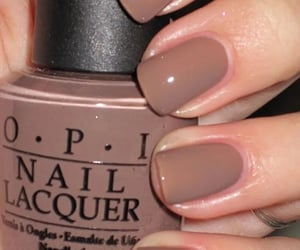 brown, nails, and manucure image