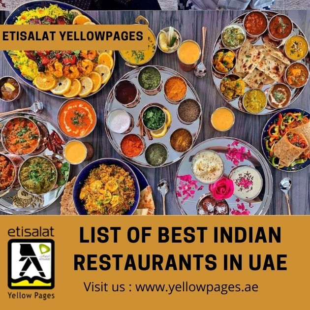 article and indian restaurants in uae image