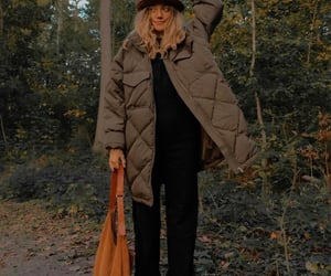 autumn, jacket, and look image