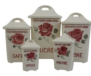 etsy, kitchen canister, and kitchen storage jars image