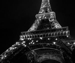 light, night, and paris image
