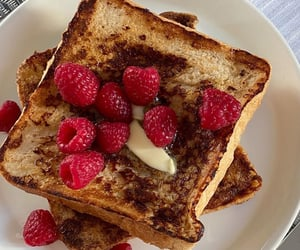 aesthetic, french toast, and cute image