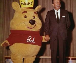 disney, pooh, and retro image
