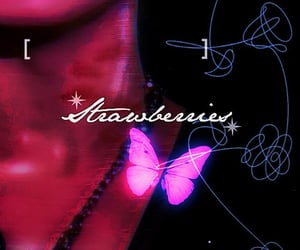 butterfly, tear, and bts edits image