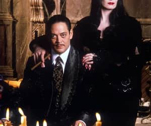 Halloween, Morticia Addams, and the addams family image