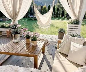 Blanc, plants, and décoration image