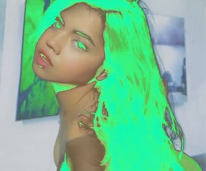 art, grunge, and neon image