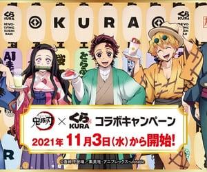 anime, zenitsu, and anime girl image