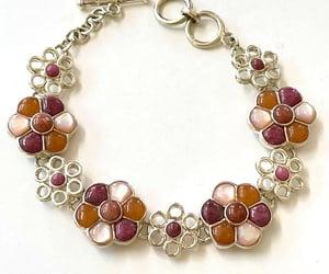 etsy, vintage bracelet, and gemstone bracelet image