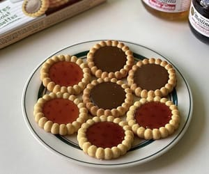 food, snacks, and tarts image