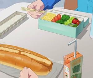 food, anime, and anime food image