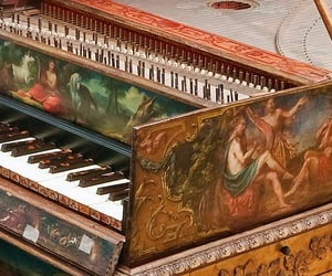 18th century, instruments, and art image