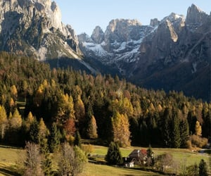 autumn, italy, and val canali image