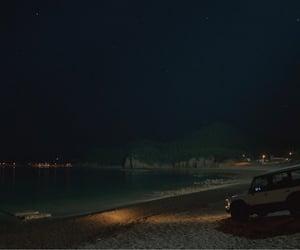 beach, cinema, and dark image