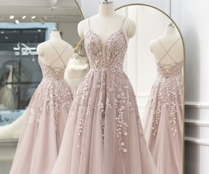dresses, formal wear, and formal gown image