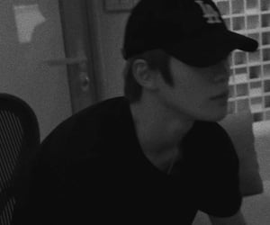 black and white, jung, and badboy image