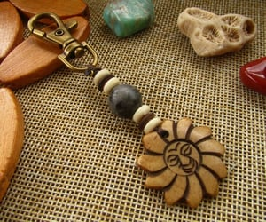 etsy, keychain, and hippie image
