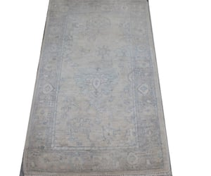home decorating, oushak rugs, and ivory grey colors image